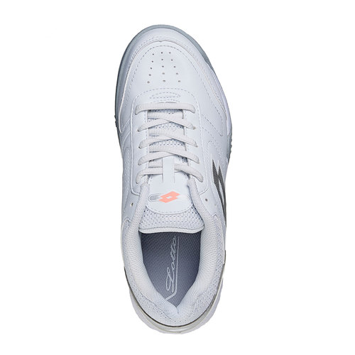 Sneakers sportive bianche lotto, bianco, 501-1155 - 19
