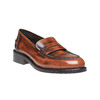 Penny Loafer di pelle bata, marrone, 514-4222 - 13