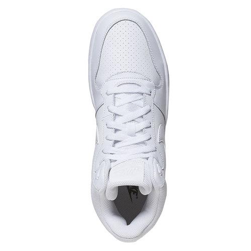 Sneakers bianche alla caviglia nike, bianco, 801-1332 - 19