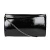 Pochette nera con catena argentata bata, nero, 961-6221 - 19