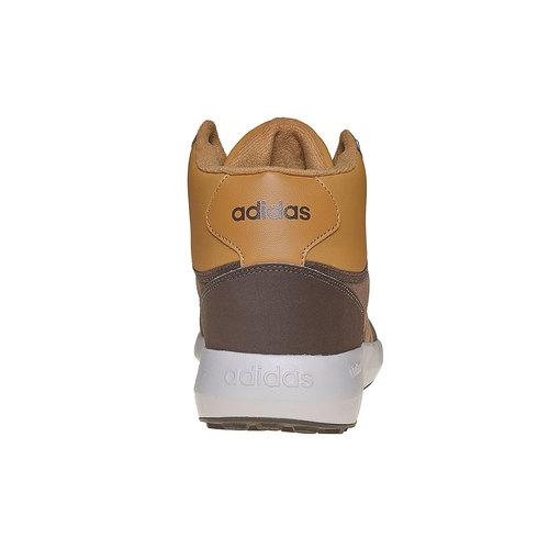 Sneakers di pelle alla caviglia adidas, marrone, 803-4894 - 17