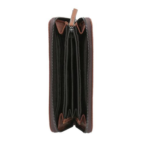 Portafoglio marrone in pelle bata, marrone, 944-3165 - 15