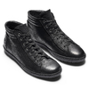 Sneakers da donna in pelle bata, nero, 594-6659 - 19