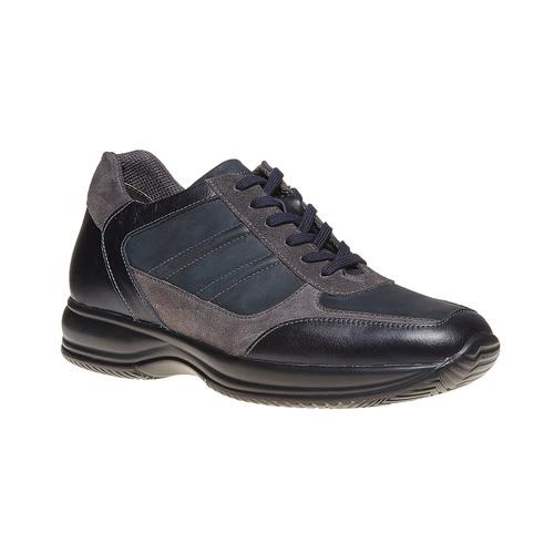 Sneakers da uomo in pelle bata, blu, 844-9214 - 13