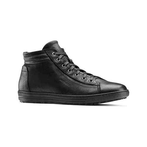 Sneakers da donna in pelle bata, nero, 594-6659 - 13