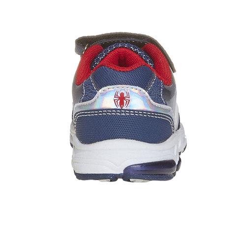 Sneakers da bambino con chiusure a velcro spiderman, viola, 211-9166 - 17