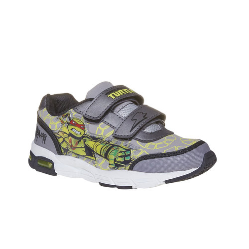 Sneakers da bambina con stampa, grigio, 311-2229 - 13