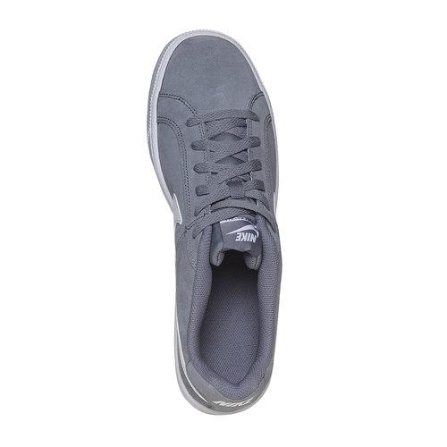 Sneakers da uomo in pelle nike, grigio, 803-2148 - 19
