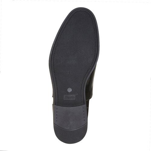 Scarpe basse verniciate da uomo bata, nero, 821-6503 - 26