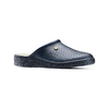Pantofole di pelle bata-comfit, blu, 874-9803 - 13