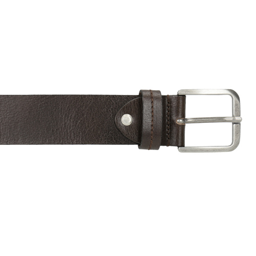 Cintura da uomo in pelle bata, marrone, 954-4106 - 26