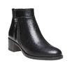 Scarpe di pelle alla caviglia bata, nero, 694-6166 - 13