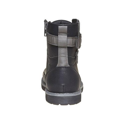 Scarpe da uomo alla caviglia bata, nero, 891-6237 - 17