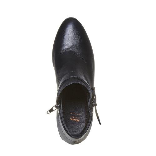 Scarpe alla caviglia con fibbia flexible, nero, 694-6344 - 19