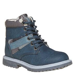 Scarpe da bambino alla caviglia mini-b, blu, 291-9163 - 13