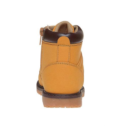 Scarpe da bambino alla caviglia mini-b, giallo, 291-8163 - 17