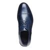 Scarpe basse di pelle blu con suola in pelle bata-the-shoemaker, blu, 824-9185 - 19