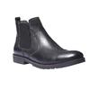 Scarpe in pelle stile Chelsea bata, nero, 894-6197 - 13