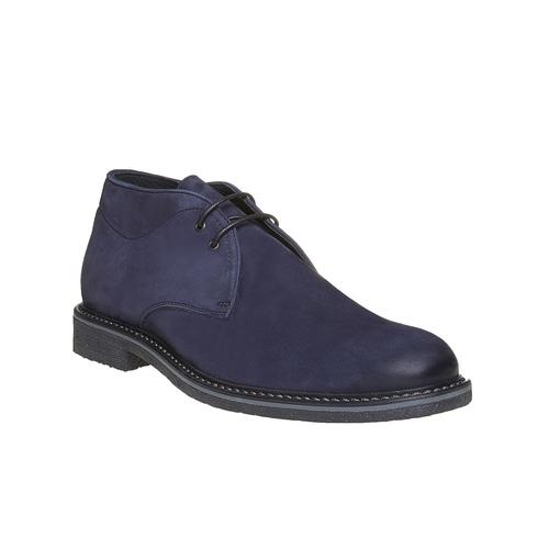 Desert Boots da uomo in pelle bata, blu, 846-9649 - 13