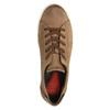 Sneakers da donna in pelle bata, beige, 524-8349 - 19