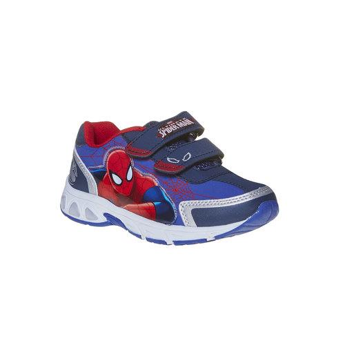 Sneakers da bambino con chiusure a velcro spiderman, viola, 311-9230 - 13