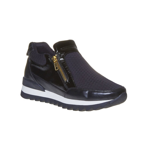 Sneakers da donna con suola originale north-star, nero, 541-6263 - 13