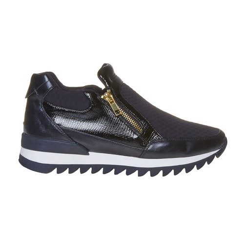 Sneakers da donna con suola originale north-star, nero, 541-6263 - 15
