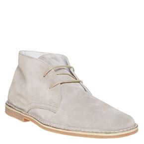 Scarpe scamosciate in stile Desert bata, beige, 843-2267 - 13