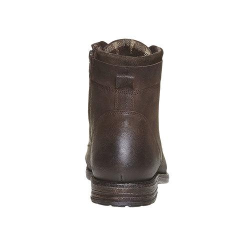 Scarpe invernali da uomo bata, marrone, 894-4284 - 17