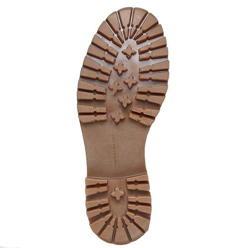Scarpe di pelle alla caviglia weinbrenner, marrone, 594-3810 - 26