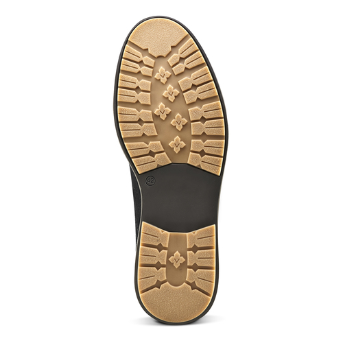 Desert Boots da uomo in pelle bata, viola, 823-9535 - 17