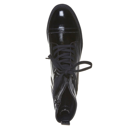 Scarpe verniciate da donna bata, nero, 591-6121 - 19