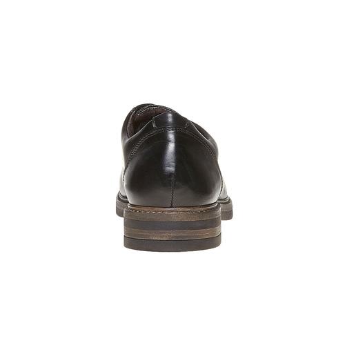 Scarpe basse Derby di pelle da uomo bata, nero, 824-6219 - 17