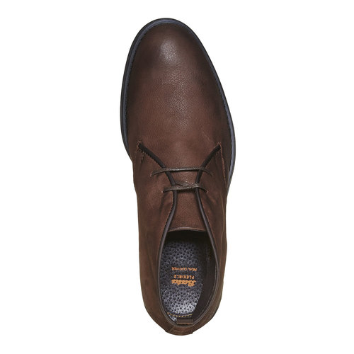 Desert Boots da uomo in pelle flexible, marrone, 824-4530 - 19