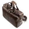 Borsa da ufficio in vera pelle bata, marrone, 964-4106 - 17