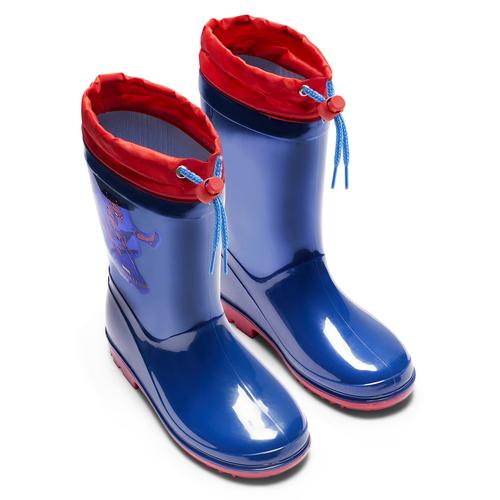 Stivali di gomma Spiderman spiderman, blu, 392-9190 - 15