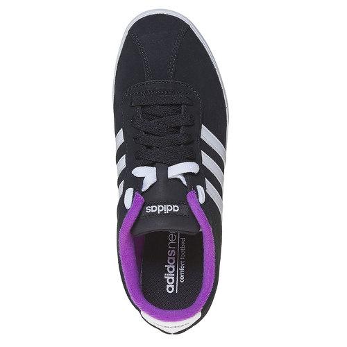 Sneakers da donna in pelle adidas, nero, 503-6201 - 19