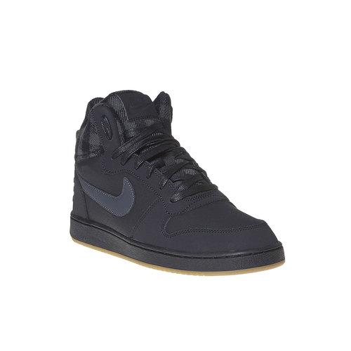 Sneakers da uomo sopra la caviglia nike, nero, 801-6632 - 13