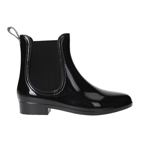 Scarpe da donna da pioggia bata, nero, 592-6779 - 15