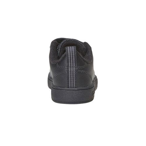 Sneakers nere da bambino con chiusure a velcro adidas, nero, 101-6233 - 17