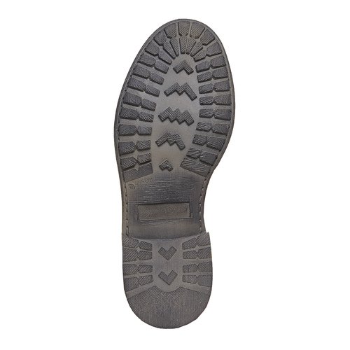 Scarpe alla caviglia con suola massiccia weinbrenner, grigio, 594-2721 - 26
