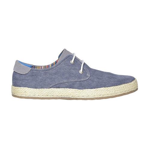 Sneakers informali da uomo bata, blu, 849-9668 - 15