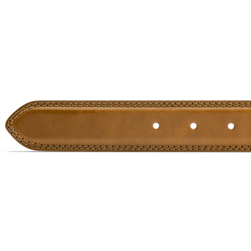 Cintura classica in pelle bata, marrone, 954-3828 - 16