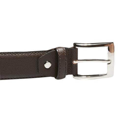 Cintura da uomo in pelle bata, marrone, 954-4169 - 26