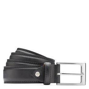 Cintura con fibbia bata, nero, 954-6828 - 13