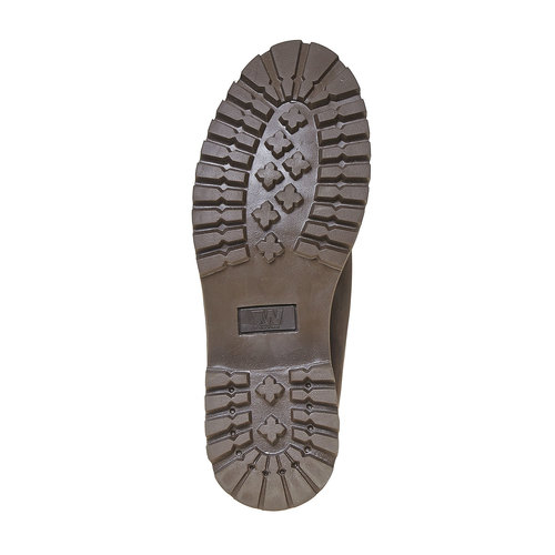 Scarpe invernali in pelle da uomo weinbrenner, marrone, 896-4705 - 26