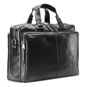 Business bag in pelle bata, nero, 964-6106 - 13