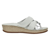 Sandali da donna in pelle, bianco, 574-1248 - 15