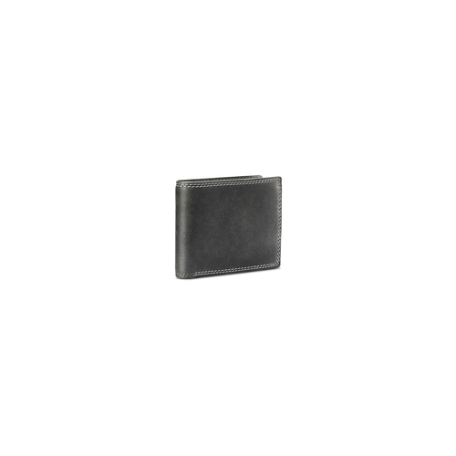 Portafoglio da uomo in pelle bata, grigio, 944-2129 - 13