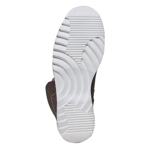 Scarpe da uomo alla caviglia, marrone, 894-4689 - 26